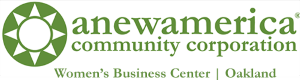 ANewAmerica Women's Business Center - Oakland Logo