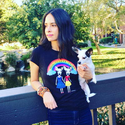 Kellin Esquivel, SketchPup Customer Pet Pictures, Success Story Women's Business Center