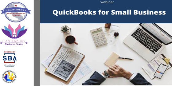 QuickBooks for Small Business on-demand webinar from the California WBC